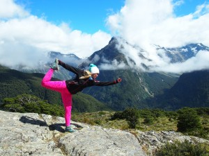 Yoga am Key Summit, Routeburn Track
